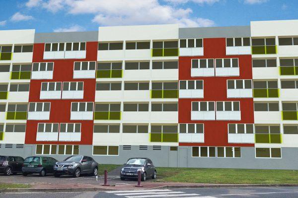 Renovation des facades quartiers des Gautriats, 71000 MACON